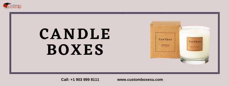 Candle boxes with Printed logo & Design in Texas, USA