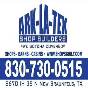 Ark-La-Tex Shop Builders of Texas in Texas