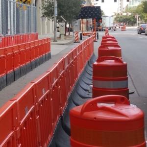 Houston Barricade in Texas